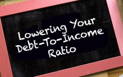 Lowering Debt to Income Ratio